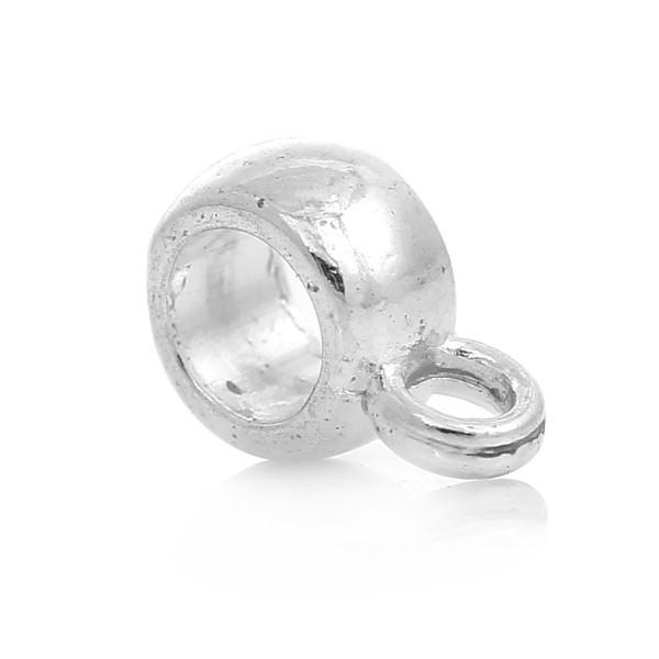 20 Metall Perlen mit Öse