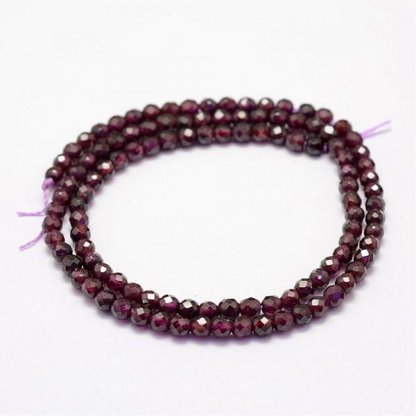 1 Strang Malaysia Jade Perlen gefärbt facettiert (ca. 130 Perlen / ca. 39 cm)