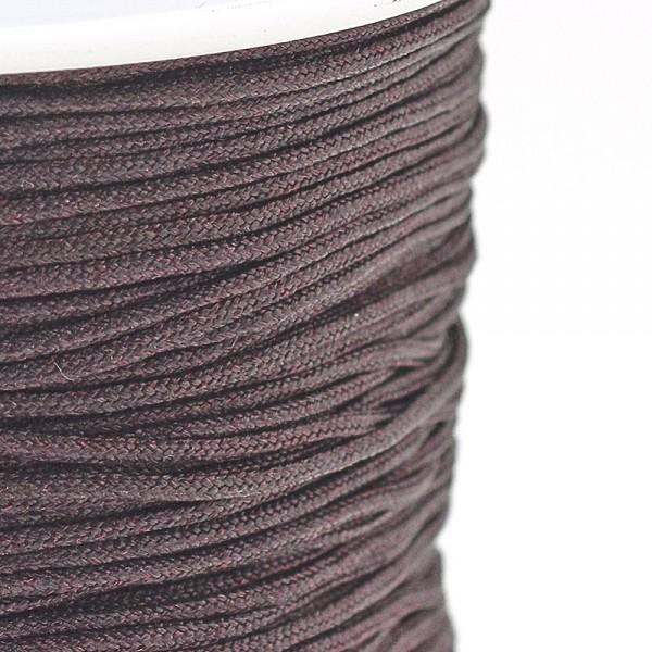 5 Meter Nylonfaden braun Stärke 0,8 mm