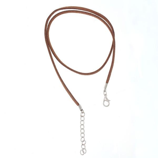 Velvet Veloursleder Halskette mit Verschluß