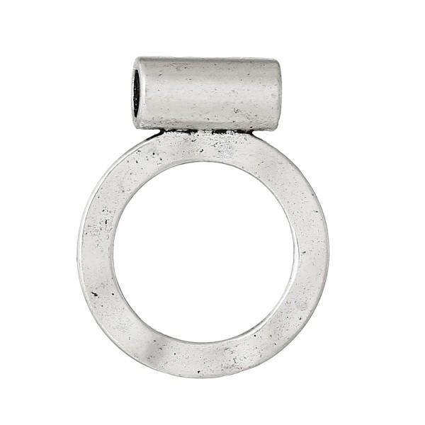 Anhänger Kreis Metallring