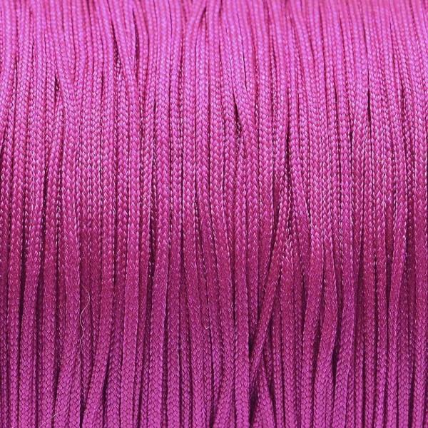 5 Meter Nylonfaden pink Stärke 1 mm