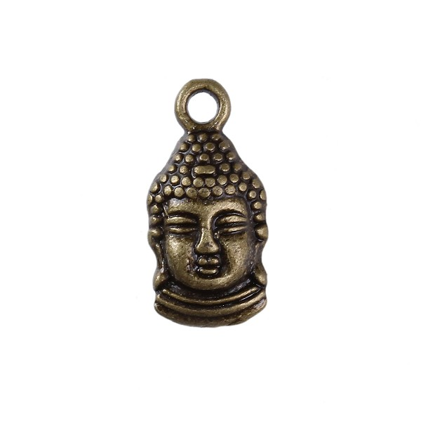 3 Charm Buddha bronzefarben