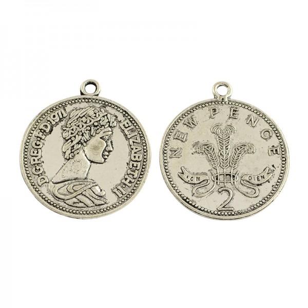 Anhänger Münze