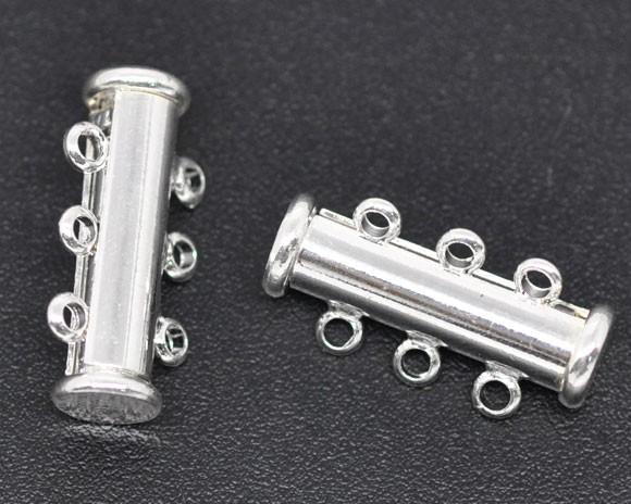 Magnetverschluss mit 3 Ösen