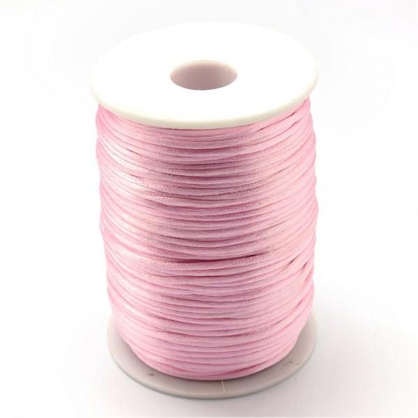 2,5 Meter Polyesterschur rosa