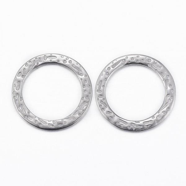 Edelstahl Verbinder Ring 15 x 1 mm
