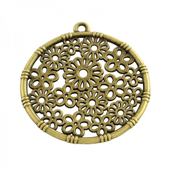 Anhänger Tibetischer Stil antik bronzefarben